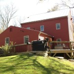 Side view of Historic Grinnell Mill Bed & Breakfast, Yellow Springs, OH