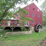 Back view of Grinnell Mill Bed and Breakfast in Yellow Springs Ohio