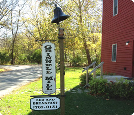 Grinnell Mill Bed and Breakfast in Yellow Springs